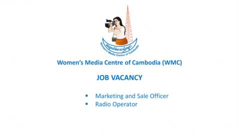 WMC – JOB VACANCY : Marketing and Sale Officer, and Radio Operator