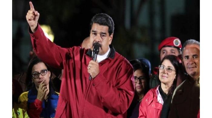 លោក នីកូឡាម៉ាឌូរ៉ូ (Nicolás Maduro)ប្រធានាធិបតីប្រទេស វេណេហ្ស៊ូអេឡា  ។រូបភាពBBC